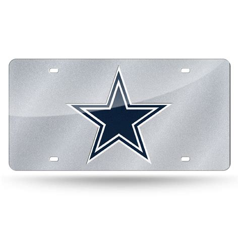 dallas cowboys fan zone dallas cowboys bling license plate