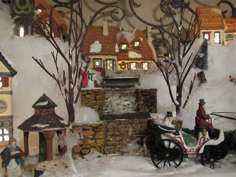 christmas village snow blankets with lights christmas village snow mat merry christmas and happy new