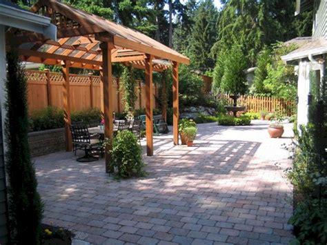 Small Backyard Paver Patio Ideas Design (Small Backyard
