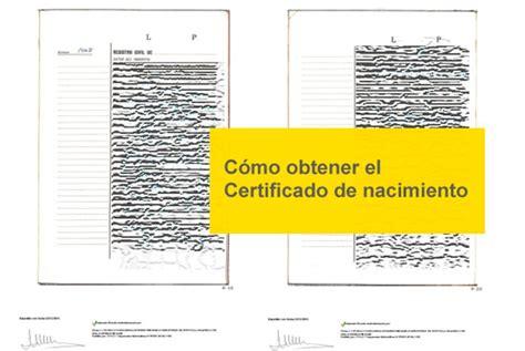 como obtener el certificado de convivencia para solicitar c 243 mo obtener el certificado de nacimiento