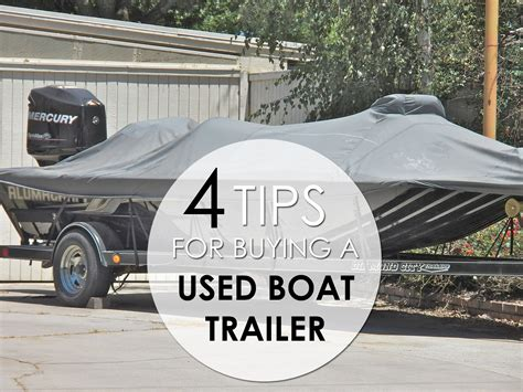 tips for buying a used boat trailer my boat life - Tips For Buying A Used Boat
