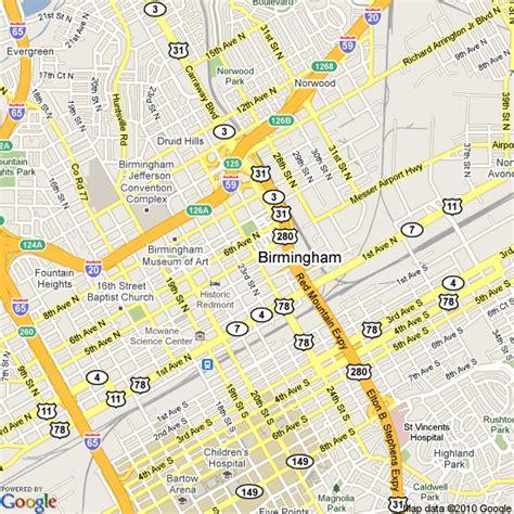 birmingham usa map map of birmingham alabama united states hotels