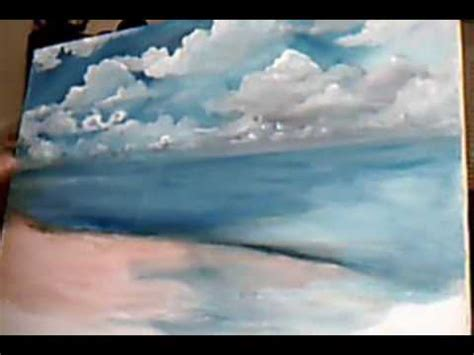 tutorial watercolor clouds acrylic clouds 9 min 41 sec youtube