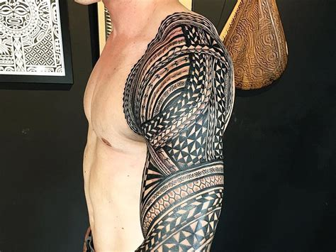tattoo sleeve tribal 25 best tribal sleeve ideas tattoozza