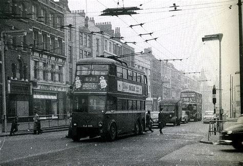 tattoo london holloway road holloway road looking south 1950 s the trolley on route