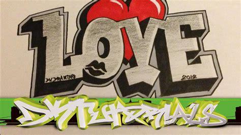 imagenes i love you graffiti graffitis de love arte con graffiti
