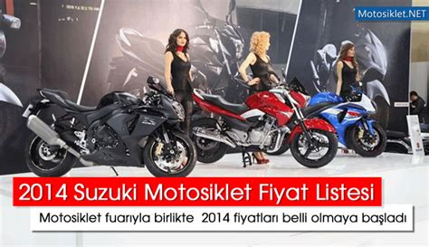 suzuki motosiklet fiyat listesi