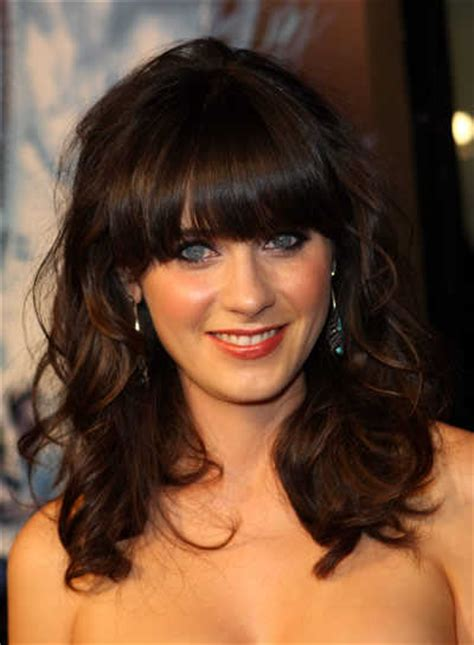 hairstyles with curly hair and bangs all fashion show trendy curly hair bangs ideas