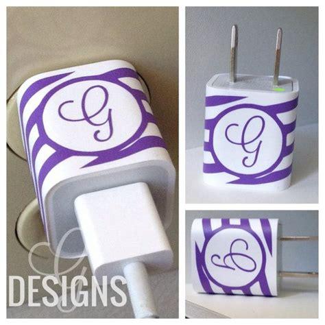 printable vinyl wrap monogrammed wave print iphone charger vinyl wrap