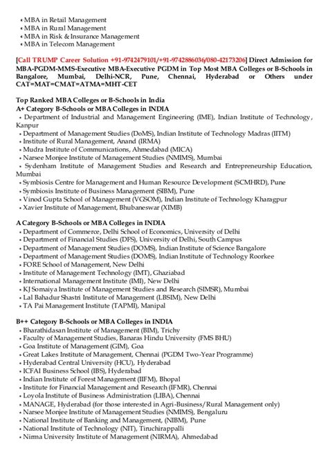 Mba Without Entrance In India by Mba Admissions Without Entrance To Mba In Rural