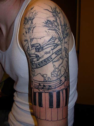music quarter sleeve tattoo tattoofriday 40 fotos de tatuagens musicais