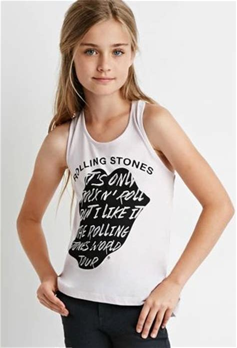Rolling Stones Twisted Racerback Tank Kids Forever