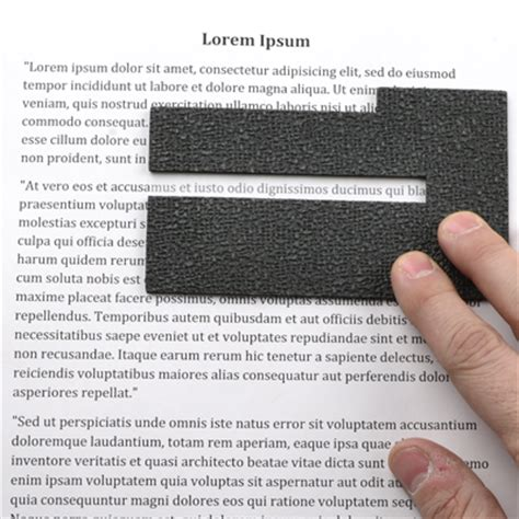 Reading Focus Card Template by Reading Focus Cards Textured Grip Reading Guide E