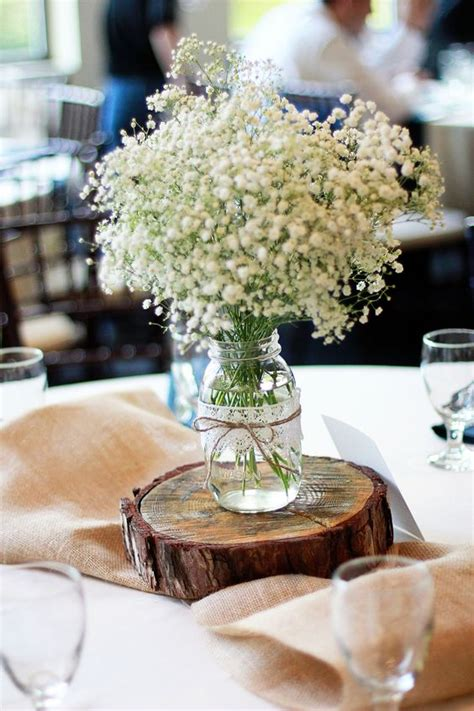 rustic babys breath wedding ideas youll love page