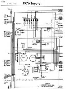 repair manuals toyota land cruiser fj40 1976 wiring diagrams