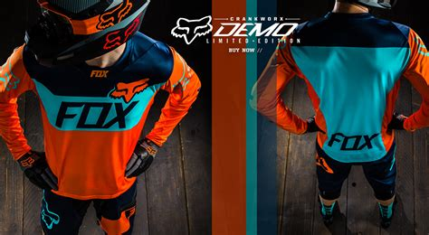 fox motocross suit mountain bike fox racing gear clothing