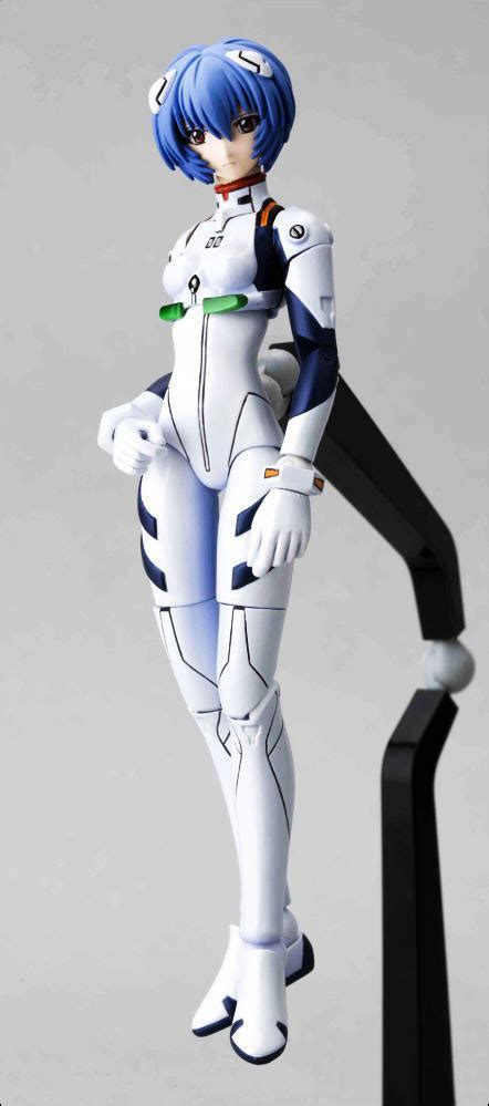Rei Ayanami Fraulein Revoltech Edisi 1st figuresworld gt animation gt