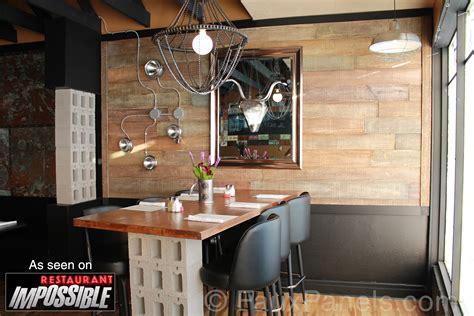 Restaurant Impossible Interior Designer enhance restaurant interior design creative faux panels