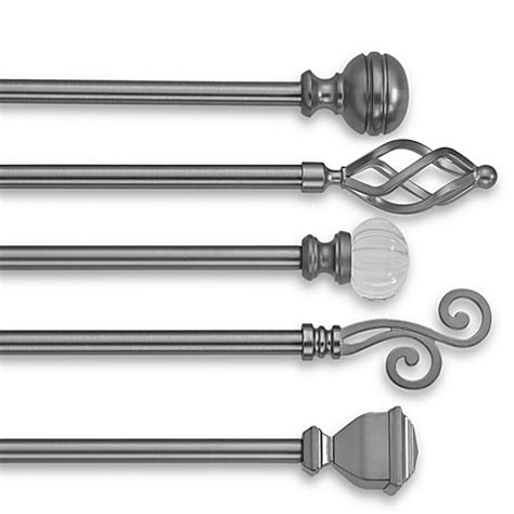 bay window curtain rods home depot pleasant idea curtains rods decorative window curtain rods