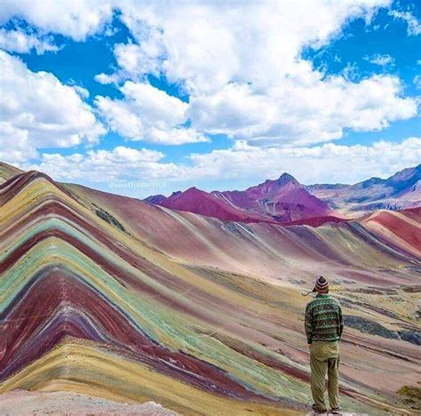 colorful mountains the rainbow mountains in peru amazing