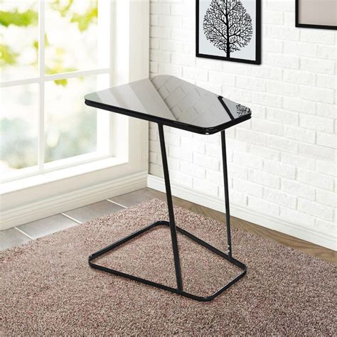Living Room Coffee Tables And End Tables Lifewit End Table Side Snack Coffee Sofa Table Modern Tempered Glass Carbon Steel Living Bed