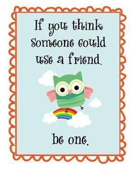child safe inspirational messages protect our children owl themed motivational posters set 2 friendship young