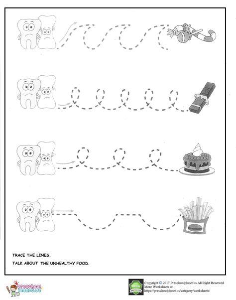 Dental Worksheets For by Dental Week Preschool Worksheets Dental Best Free