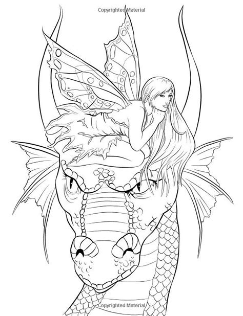 fairy companions coloring book coloring outside the lines mandalas colorear y