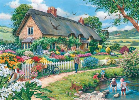 quot lazy days quot by keith stapleton charming cottages