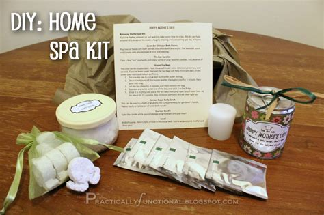 s day relaxing home spa kit