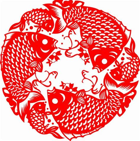 China Paper - paper cutting fish paper cutting pictures