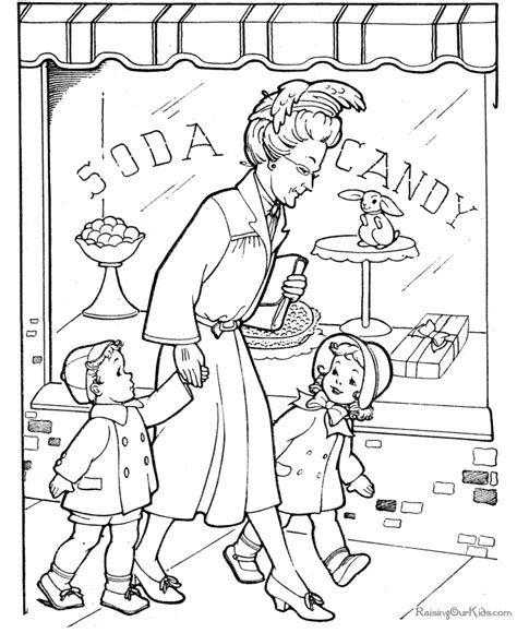 printable coloring pages for grandparents free grandparents day coloring page 009