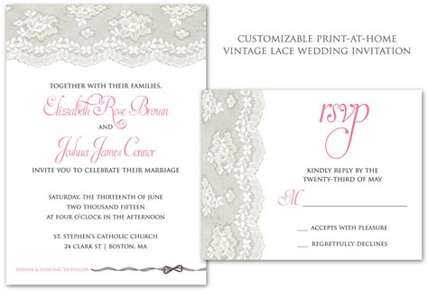 print at home invitation templates brenda s wedding affordable wedding ideas for