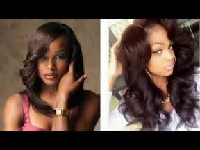 black sew in hairstyles 2015 weave natural black hair