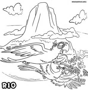 rio coloring pages coloring pages download print