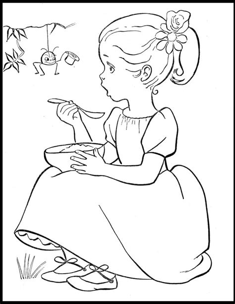 vintage patterns coloring pages 26 best nursery rhyme coloring pages images on pinterest
