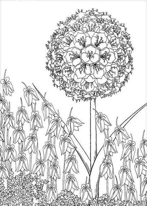 tree smile flower coloring page  print