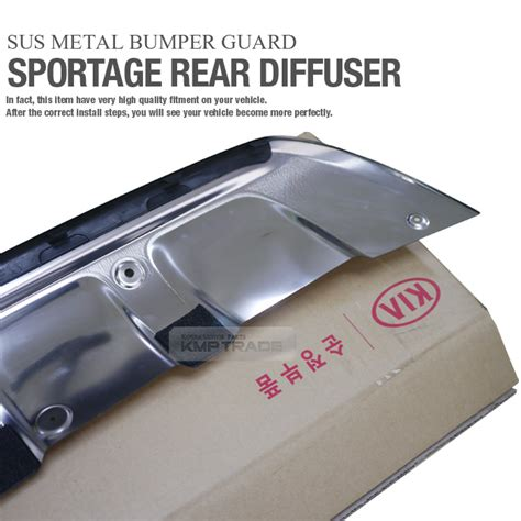 All New Innova Skid Plate Colour By Request oem rear bumper sus chrome guard skid plate diffuser for kia 17 18 sportage ql ebay