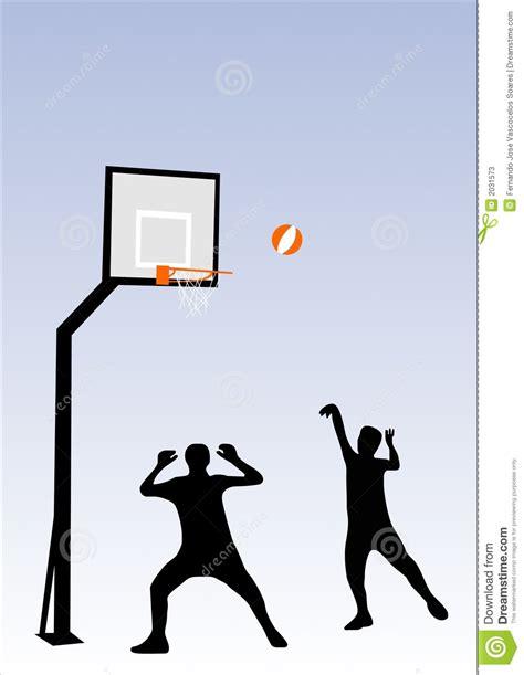 basketball spielen basketball stock vector image of match