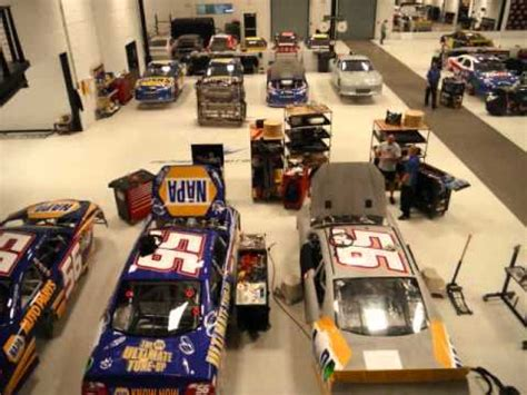 Nascar Garage by Nascar Michael Waltrip Inside The Garage Wmv