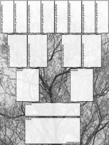 blank tree diagram template family tree template blank family tree