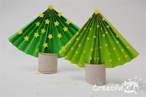 how to make a paper christmas tree simple christmas