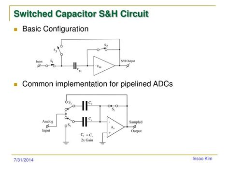 switched capacitor circuits are ppt sle hold circuits powerpoint presentation id 2752720