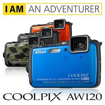 Kamera Nikon Aw120 nikon coolpix aw120 outdoor digitalkamera 3 zoll orange de kamera