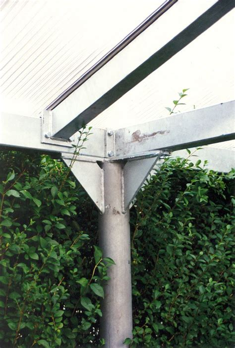 Sichtschutz Ideen Garten 4629 by Die Besten 25 Carport Aus Stahl Ideen Auf