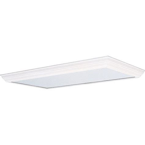 Progress Lighting White Fluorescent Fixture Diffuser P7276 Fluorescent Light Fixture Diffusers