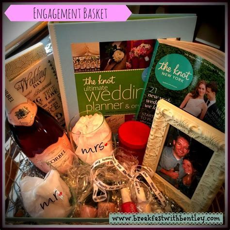 25  best Engagement gift baskets ideas on Pinterest