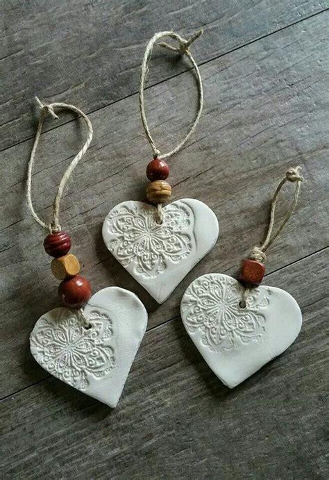 cornstarch clay ornaments christmas diy pinterest