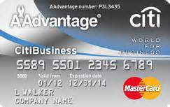 citibusiness credit card citibusiness r aadvantage r world mastercard r