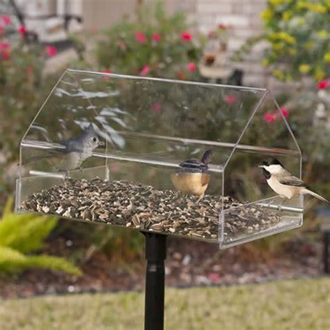 duncraft com duncraft 14p pole mount chalet bird feeder